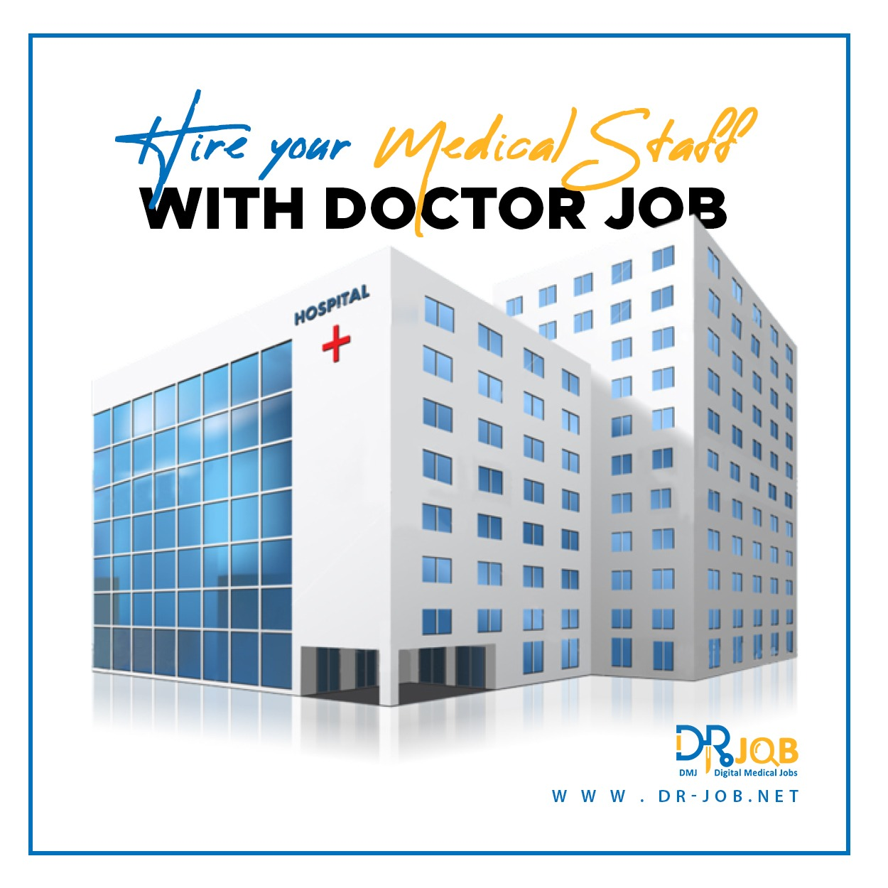 Hire your medical staff with Dr. Job